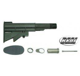 GUARDER AR-15/M4 真鎗伸縮托(黑色)