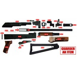 GUARDER AKS-74全鋼製套件(木質護木版)