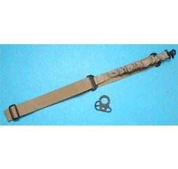 G&P CQB/R 鎗帶扣連Bungee 鎗帶 (沙色) (M4系列用)
