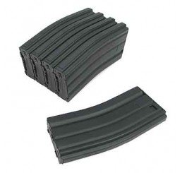 King Arms M16 300R H&K Magazine Box Set (5pcs) (2007/12/1)