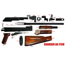GUARDER 2004年版AK-74全鋼製套件