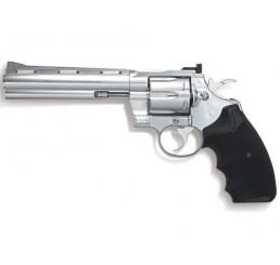 KWC COLT PYTHON 357左輪GAS GUNS-銀黑