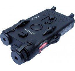 KING ARMS AN/PEQII style 電池盒連雷射及電池