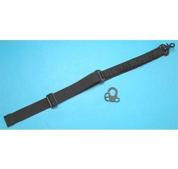 G&P CQB/R鎗帶扣連Bungee鎗帶(黑色)(伸縮電池尾托用)