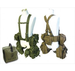 FIRST FACTORY GHOST GEAR RECON LEG PACK SYSTEM COMPLETE SET