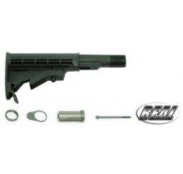GUARDER AR-15/M4 真鎗伸縮托-黑色(六定位)