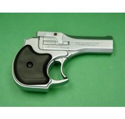 HUASHAN Derringer 8mm 銀色瓦斯掌心雷Prop Guns
