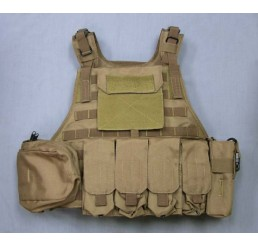 PROUD Molle Plate Carrier with Cummerbund Package (沙色)