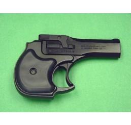 HUASHAN Derringer 8mm 黑色瓦斯掌心雷Prop Guns
