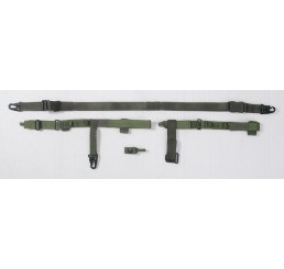 PHANTOM 三點式戰術鎗帶 (軍綠)