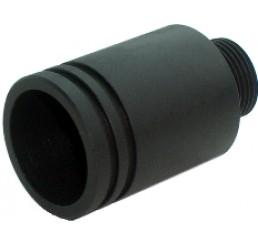 KING ARMS Marui G36C滅音器轉接頭 (14mm L ->14mm R)
