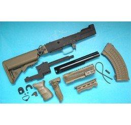 G&P AK 戰術型改裝套件 (伸縮電池尾托)(綠色)