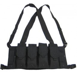 KING ARMS 5.56 胸前掛袋 (黑色)