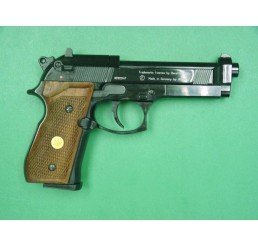 P.Beretta M92FSCO2 GUNS-黑色木柄