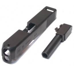 GUARDER Glock 26用鋼製金屬滑套&槍管(G27可用)