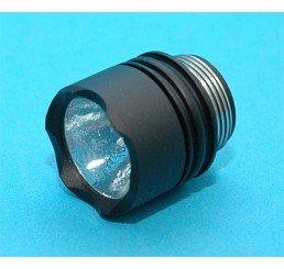 G&P 3000X 攻擊電筒頭連3W LED