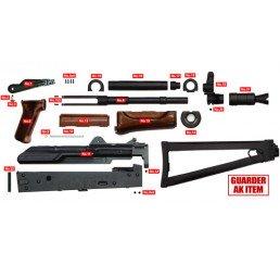 GUARDER AKS-74U全鋼製套件