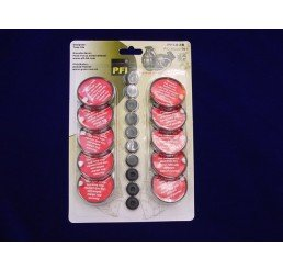 紅粉末上蓋及膠塞10件 Red Powder Disc+Rubber Seal 10pcs
