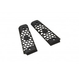 WE 1911 Hex Cut Grip Black