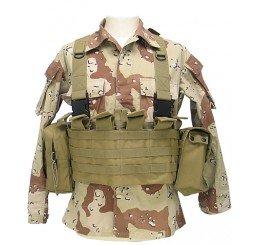 KING ARMS MPS Utility 胸前掛袋全套 (沙色)