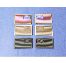 FIRST FACTORY GHOST GEAR 美國國旗臂章貼