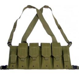 KING ARMS 5.56 胸前掛袋 (軍綠色)