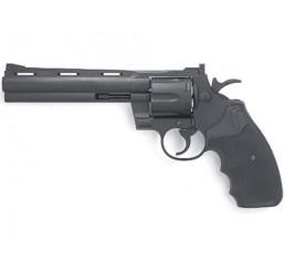 KWC COLT PYTHON 357左輪GAS GUNS-黑色