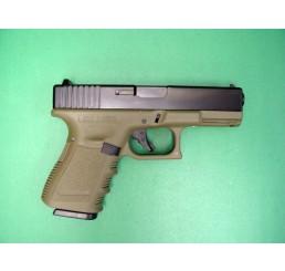 KJ Glock 32CGAS GUNS(軍綠色 - 金屬滑架)