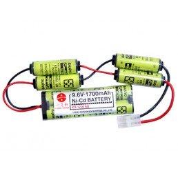 ICS 9.6V-1700mAh電池