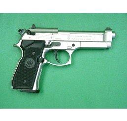 P.Beretta M92FSCO2 GUNS-銀色黑柄