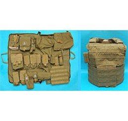 G&P CIRAS M16系列戰術背心連袋包 (泥色)