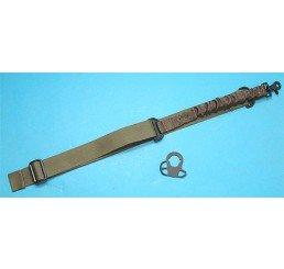 G&P CQB/R鎗帶扣連Bungee鎗帶(綠色)(伸縮電池尾托用)