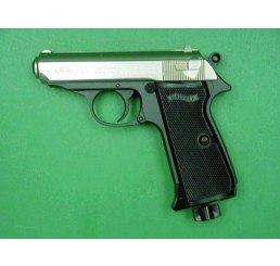 WALTHER PPK/SCO2 GUNS-銀黑色