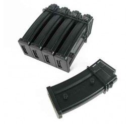 King Arms G36 470 rounds magazines Box Set (5pcs) (2007/12/6)