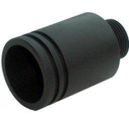 KING ARMS Marui G36C滅音器轉接頭 (14mm R ->14mm L)