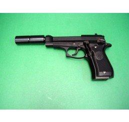 WA M84FS Cheetah 黑色連SilencerGAS GUNS