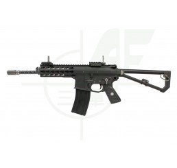 EMG Knights Armament Airsoft PDW M2 GBB Airsoft Rifle - Black / Long Barrel