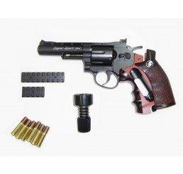 "WG - CO2 4"" 左輪GAS GUNS-黑色"