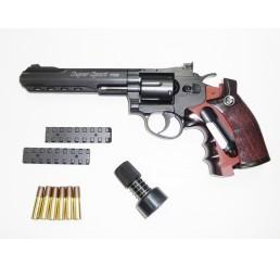 "WG - CO2 6"" 左輪GAS GUNS-黑色"