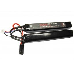 WE BATTERY 3000MAH 7.4V 20C LIPO NUNCHUCK