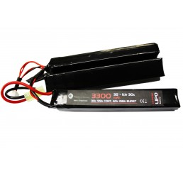 WE BATTERY 3300MAH 11.1V 30C LIPO NUNCHUCK