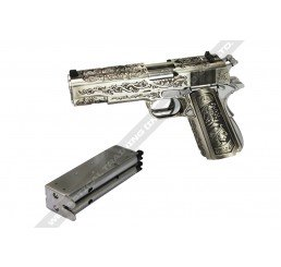WE DOUBLE BARREL 1911 Floral Pattern