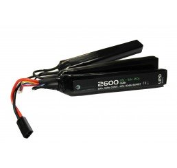 WE BATTERY 2600MAH 11.1V 20C LIPO NUNCHUCK