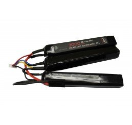 WE BATTERY 3000MAH 11.1V 20C LIPO NUNCHUCK