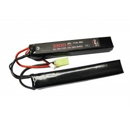 WE BATTERY 3300MAH 7.4V 30C LIPO NUNCHUCK