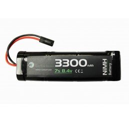 WE BATTERY 3300MAH 8.4V NIMH LARGE